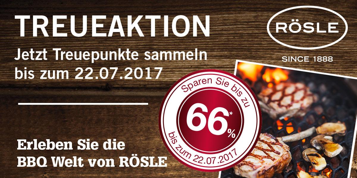 Jetzt EDEKA-Treuepunkte sammeln und 66% für die BBQ Produkte von RÖSLE sichern!